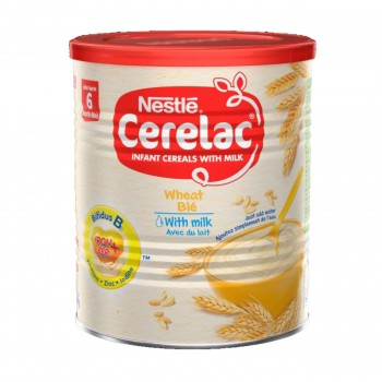 Cerelac Wheat with Milk (12 x 400g) carton- Baby Cereals after 6months