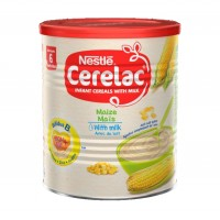 Cerelac Maize with Milk (400g x12) carton - Baby Cereals after 6months
