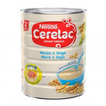 Cerelac Maize & Soya (6x900g) Carton