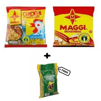 Maggi Bundle 1 (1 pack of maggi chicken and 1 pack of maggi star )