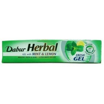 Dabur Mint And Lemon Toothpaste 140g x 10
