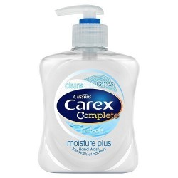 Carex Moisture Plus Antibacterial Hand Wash 250ml