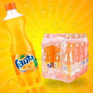 Fanta Orange Drink  pet 35cl - 1pack(12 Bottles)