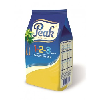 Peak 123 Growing-up-Milk Refill Powder (360g x 12) carton