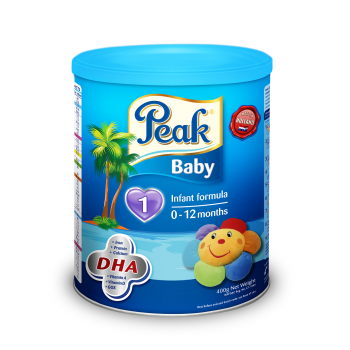 Peak Baby Tin (400g  x 12) carton