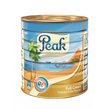 Peak Powdered Milk Tin (2.5kg x 6) carton