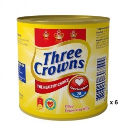 Three Crowns Evaporated Milk tin (160g x 3)