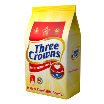 Three Crowns Powdered Milk pouch (350g x 6)half carton