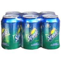 Canned Sprite 33cl Pack x6