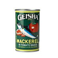 Geisha Mackerel 93g