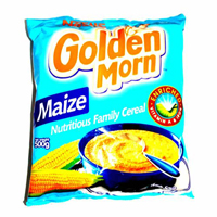 Golden Morn 500g with free g/m puff 50g x 5