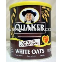 Quaker White Oats 500g Tin