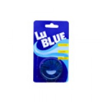 Lu Blue Toilet Flush