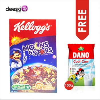 MOONS & STARS - Kellogs Choco Cereal (400g) with FREE DANO COOL COW MILK 150G