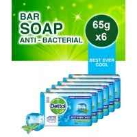 Dettol Soap Cool (65g x 6)