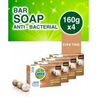 Dettol Eventone Bathing Soap 160g x 4