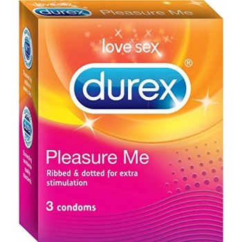 Durex Condom  Pleasure Me  (3 pack)