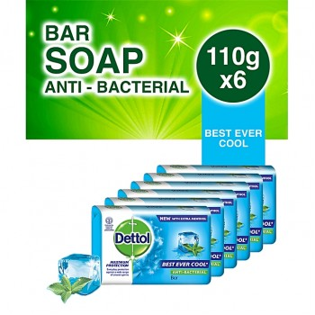 Dettol Soap Cool (110g x 6)