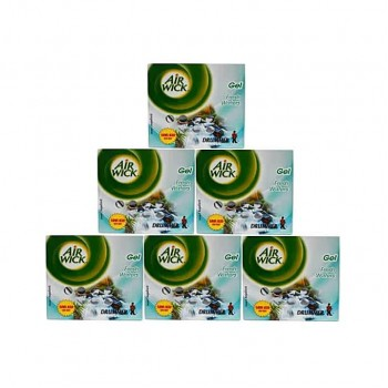 Air Wick Drummer Freshener Gel (50g x 6) - Fresh waters