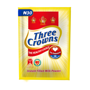Three crown sachet milk 12g x 10