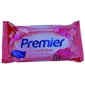 Premier Sweet Rose Soap 175g x 3