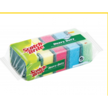 Sponge - SCOTCHBRITE MULTICOLOUR SCOURERS