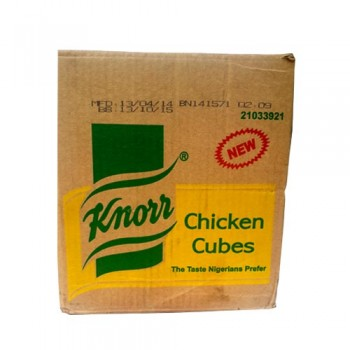 Knorr chicken cube 100 cubes  x 16 (carton)