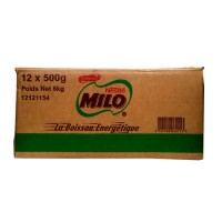 Milo Refill 12x500g with free g/m puff x 10