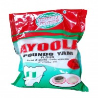 Ayoola Poundo Yam Flour - 0.9kg