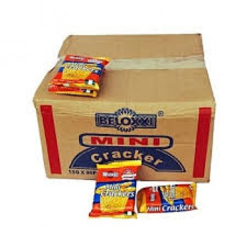 Biscuit - Beloxxi Mini Cream Cracker (72 sachets)