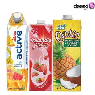 Chivita  1ltr Juice Combo 6