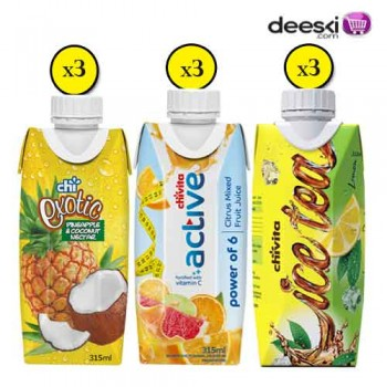 Chivita  315ml Juice Combo 5