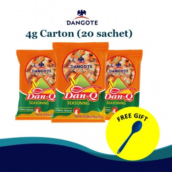 Dan Q seasoning - Chicken Flavour (4g x100cubes x20)carton