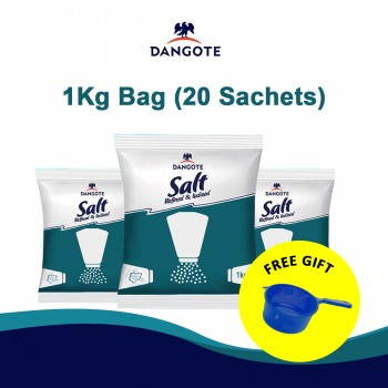 Dangote salt (1kg x 20)bag