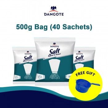 Dangote Salt (500g x 40) bag
