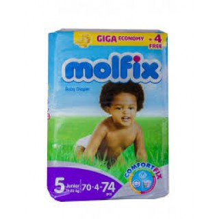 Molfix Diaper size 5 by 70