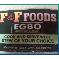 Egbo (Maize Grit, Corn Meal) 1 kg