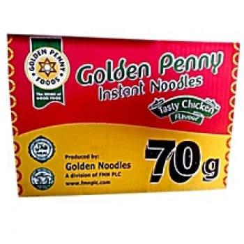 Golden Penny NOODLES - Chicken Flavour - 70g X 40 (1 Carton)