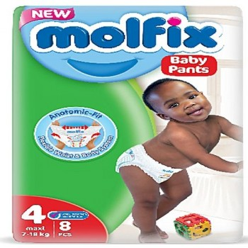 Molfix Diaper size 4 pant by 8