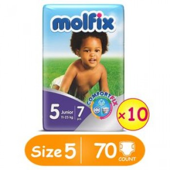 Molfix Diaper size 5 by 7 x 10 (carton)