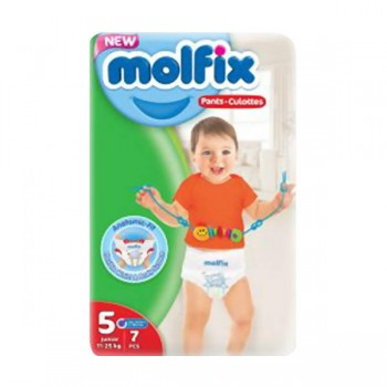 Molfix Diaper size 5 pant by 7