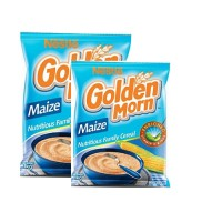 Golden Morn 1kg x 2 With Free 50g Golden morn puff and Maggi naija pot (Sample pack)