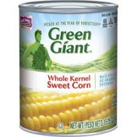 Green man sweet corn
