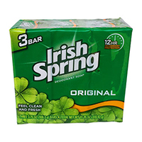 Irish Spring Soap Aloe 100 g 3 Bars