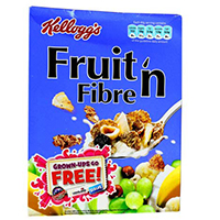 Kelloggs  Fruits & Fibre 500g x 10 (half carton)