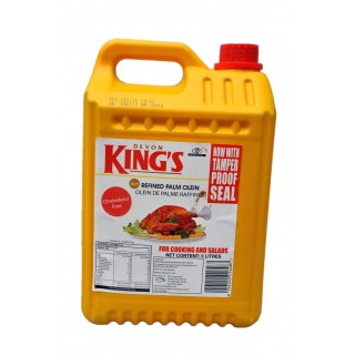 Kings Vegetable Cooking Oil - 5 Litres
