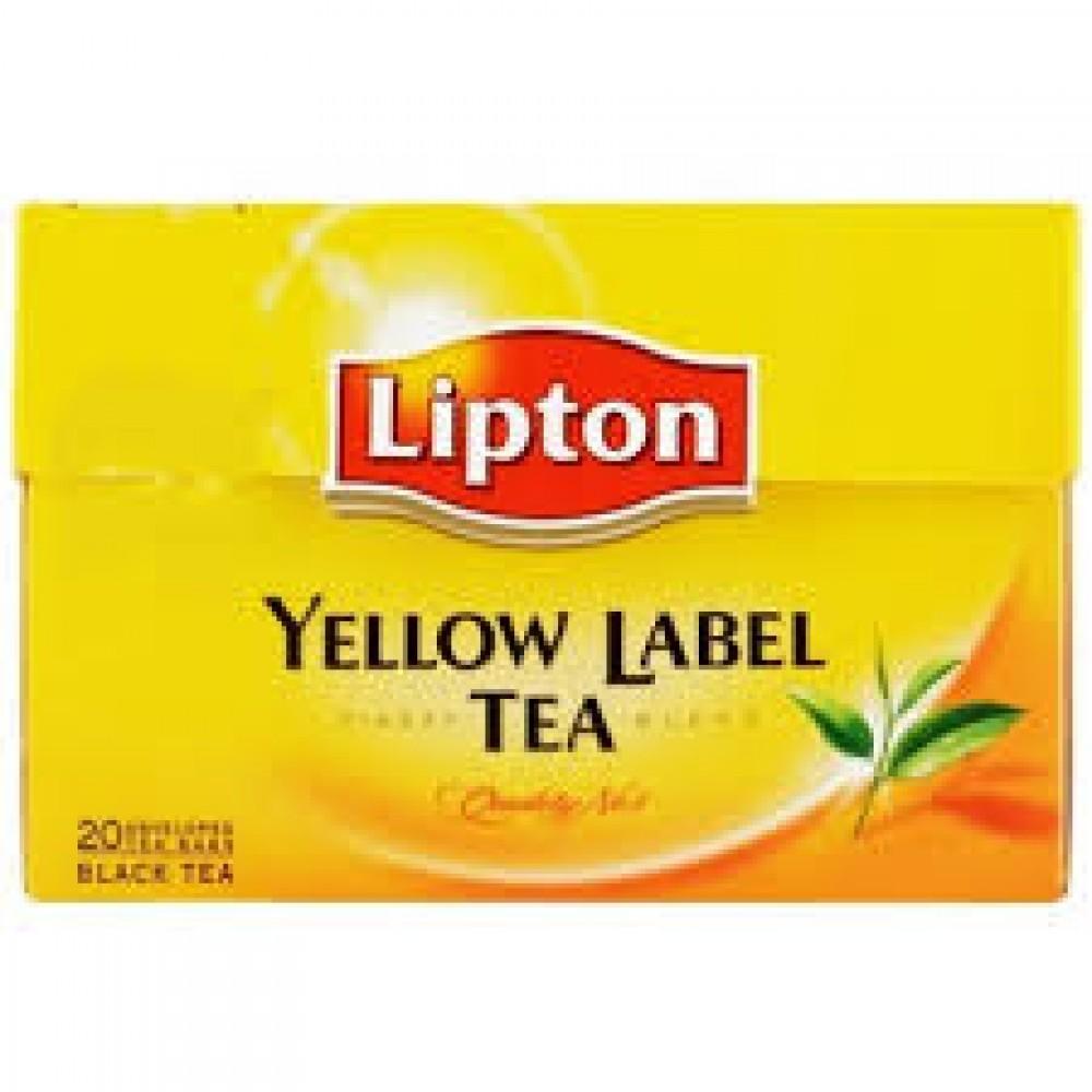 Lipton Yellow Label Tea (25 Tea Bags x 2)