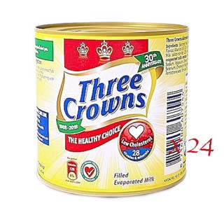 Three Crown Evaporated  Milk170g by 24