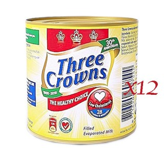 Three Crown Tin Milk x 12
