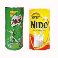 Milo 1kg + Nido 900g With 50g Golden morn puff x 5
